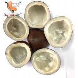 Dry Black Coconut (Black Copra) 6 Pieces